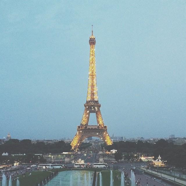 De paseo por la ciudad de las luces, París.