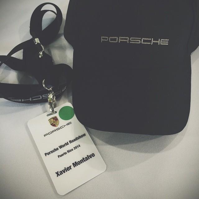 El QiiBOss listo para el Road Show de #PorschePuertoRico